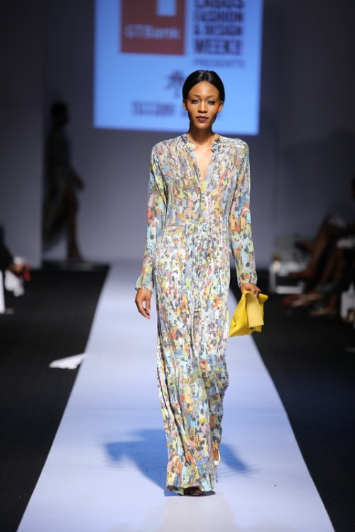 Tiffany Amber lagos fashion and design week 2014 fashionghana african fashion (1)
