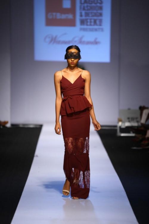 Wana Sambo lagos fashion and design week 2014 fashionghana african fashion (6)