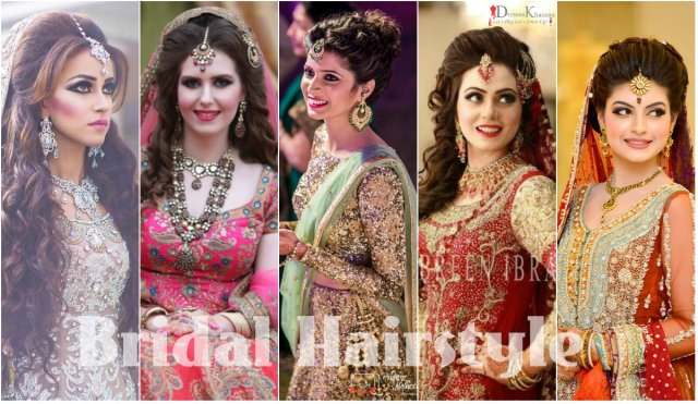 latest pakistani bridal hairstyles 2017 for girlslatest