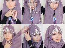 Modern Hijab Styles Step by Step Tutorials 2018 | FashionGlint