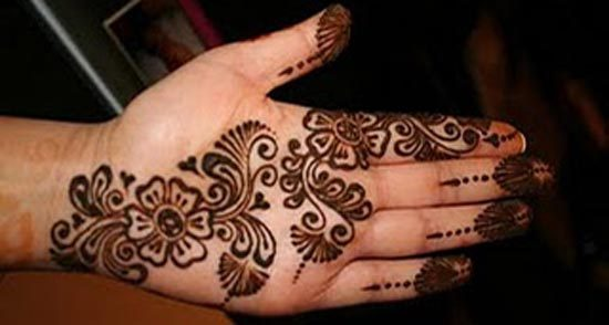 Simple Easy Mehndi Designs For Full Hands