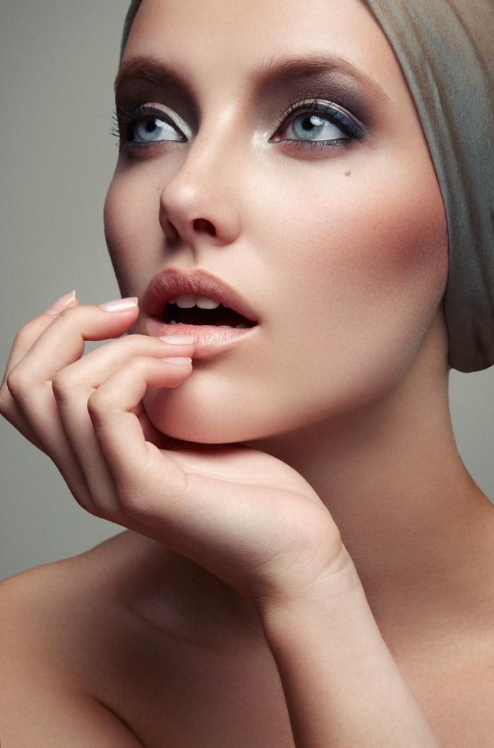 Emily Van Raay Poses in Beauty Snaps by Jeff Tse  Fashion