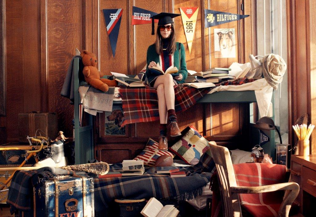 Tommy Hilfiger Fall 2013 Campaign Enlists a Preppy Cast by