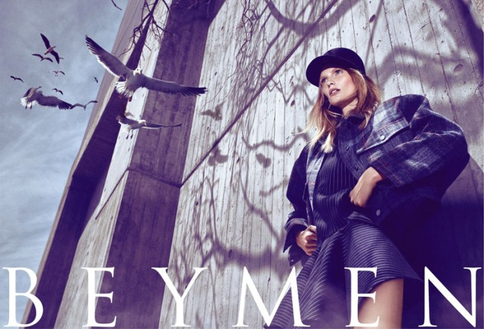 beymen fw ads2 Katrin Thormann Fronts Beymen Fall 2013 Ads by Koray Birand