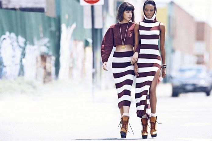river island rihanna fw5 Rihanna for River Islands Fall 2013 Campaign Highlights Street Style
