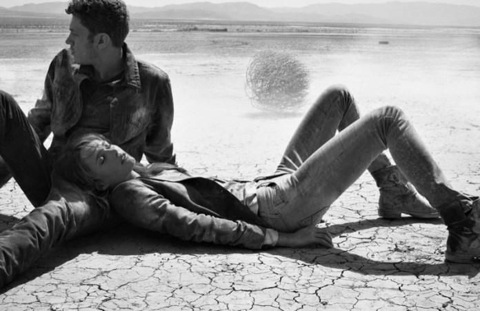 true religion fall4 Karmen Pedaru Hits the Desert for True Reilgions Fall 2013 Ads