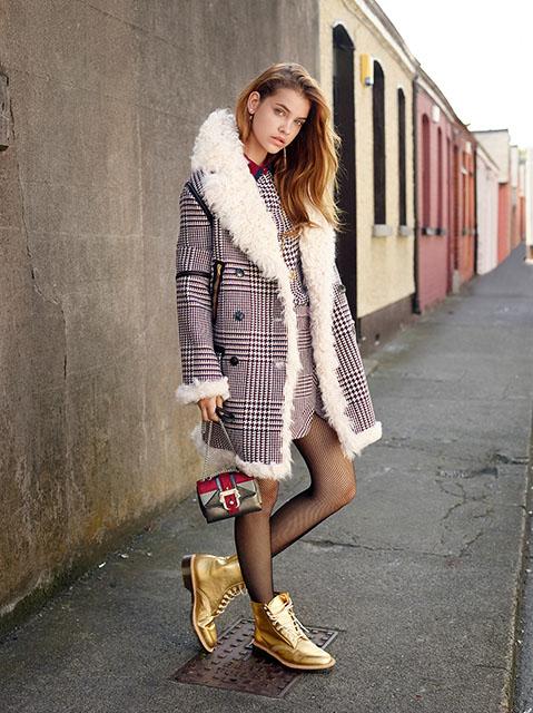 Barbara Palvin  Stella Maxwell Hit the Streets for David Mushegain in Vogue Japan