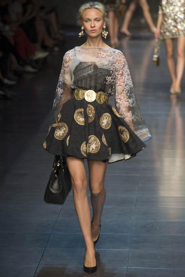 dolce gabbana spring 2014 36 Milan Fashion Week Spring/Summer 2014 Day 5 Recap | Dolce & Gabbana, Marni, Salvatore Ferragamo + More