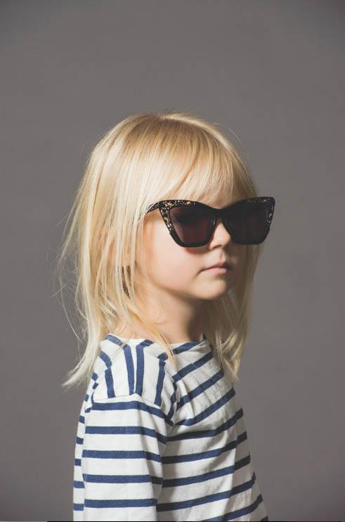 karen walker eyewear51 Cute Kids Front New Karen Walker Eyewear Advertising Campaign