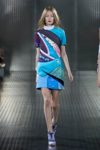 Mary Katrantzou, ready to wear collection Spring Summer 2014 in London
