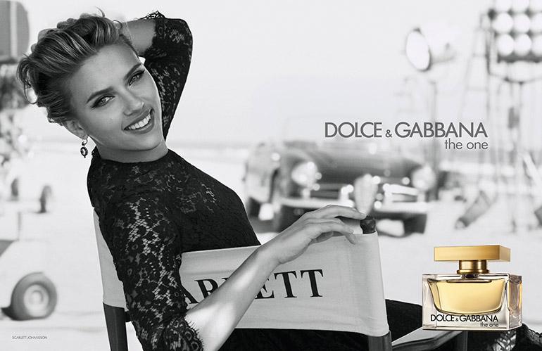 Scarlett Johansson For Dolce Amp Gabbana The One Fragrance