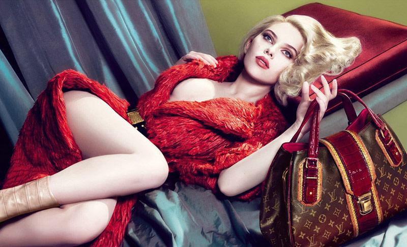 Scarlet Johansson for Louis Vuitton Fall 2007