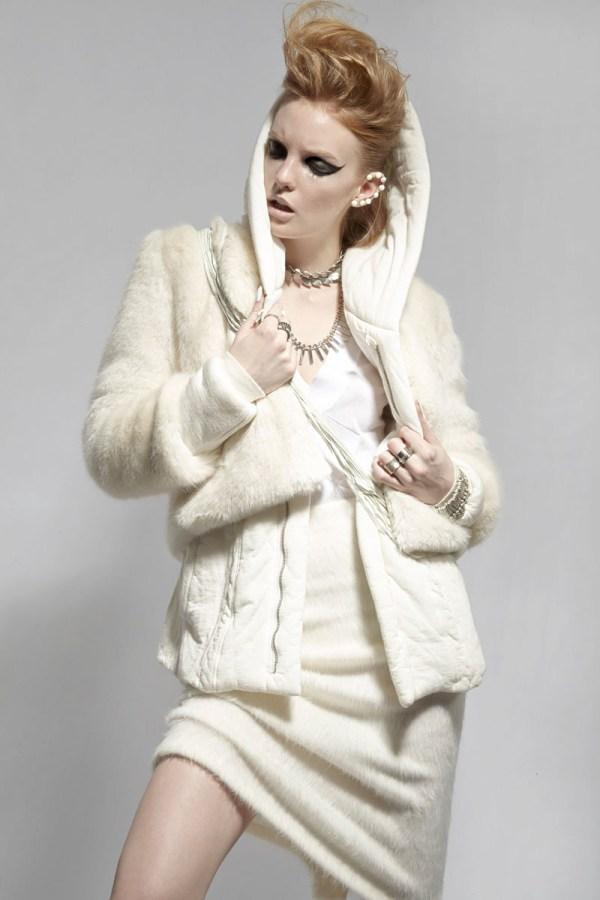 "Clara Settje Wendy Hope In ""naux Fur"" Fashion"