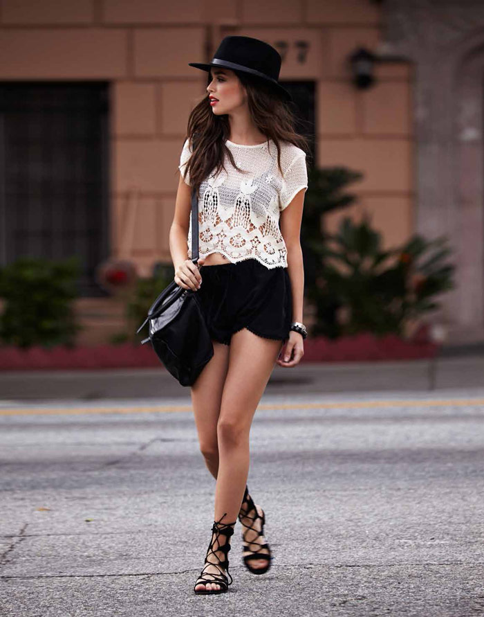 Carolina Sanchez Models For Lovers Friends Summer Lookbook
