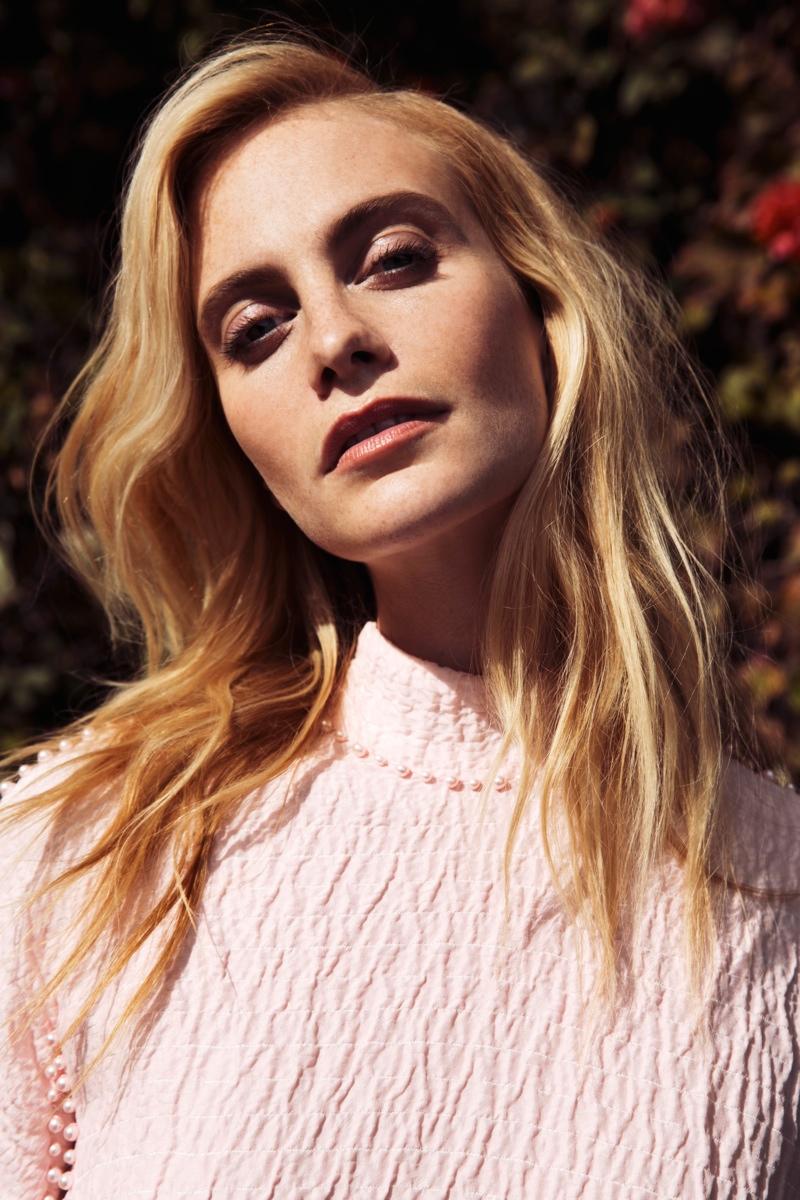 Poppy Delevingne Poses for Stylebop British Designer