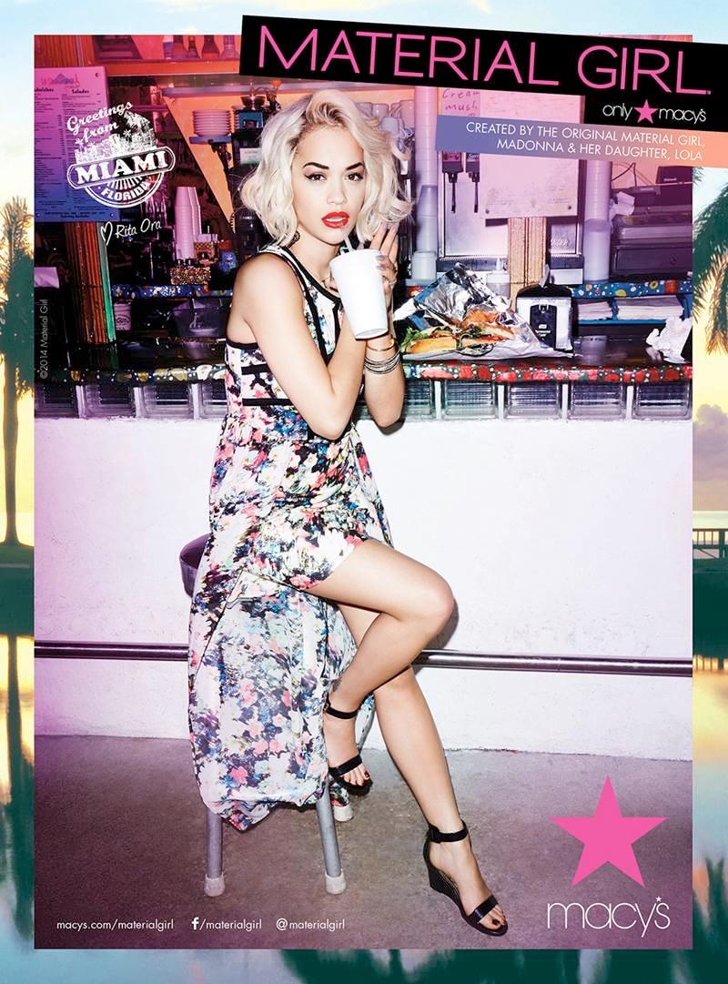 Sexey Girl Wallpaper Rita Ora For Material Girl Spring Summer 2014 Campaign