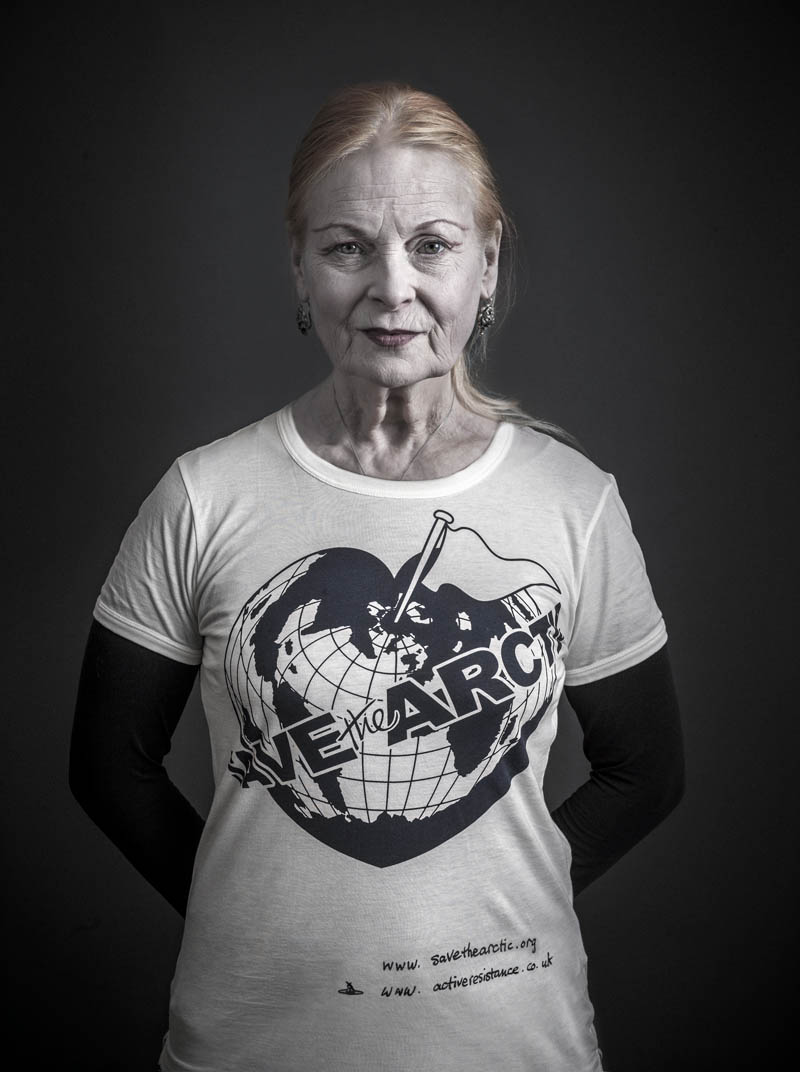 Vivienne Westwood Save the Arctic Greenpeace Campaign  Fashion Gone Rogue