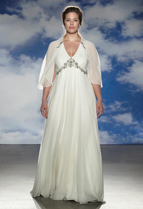 Jenny Packham Bridal Spring 2015 Features Plus Size Models