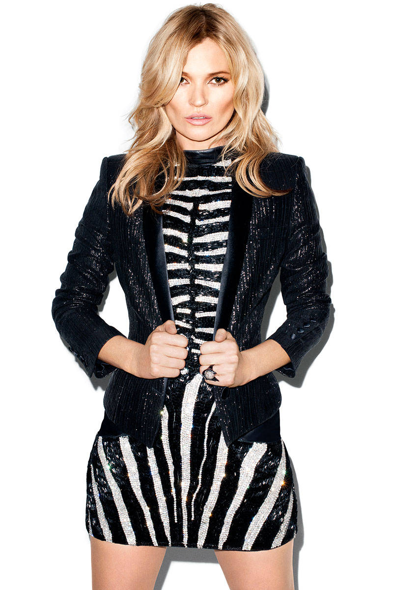 kate moss terry richardson4 Kate Moss Talks Turning 40, Topshop Collection with Harpers Bazaar