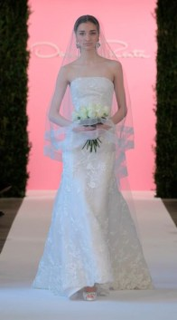 Dress from Oscar de la Renta Bridal Spring 2015 Collection