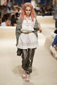 Charlotte Free at Chanel's Cruise 2015 Runway Show