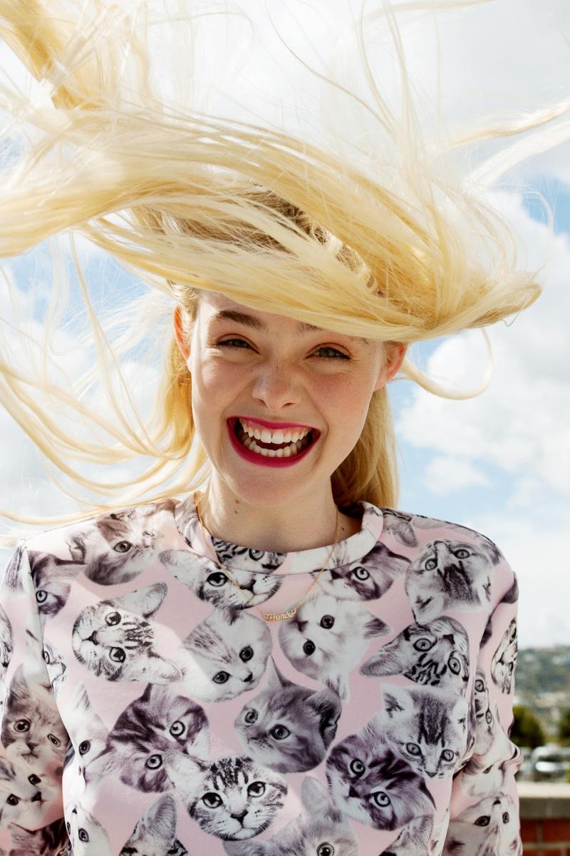 elle fanning asos magazine photos1 Elle Fanning Stars in ASOS Magazine, Talks Knowing Karl Lagerfeld