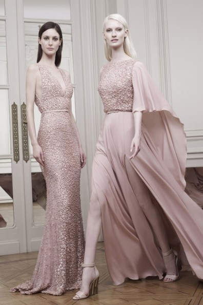 FORMAL LOOK: If you are attending a more formal wedding ceremony, then keep it classic with a long gown. These looks from Elie Saab bring some modern glamour with high slits and interesting necklines. Pair with a strappy heel for the ultimate statement.