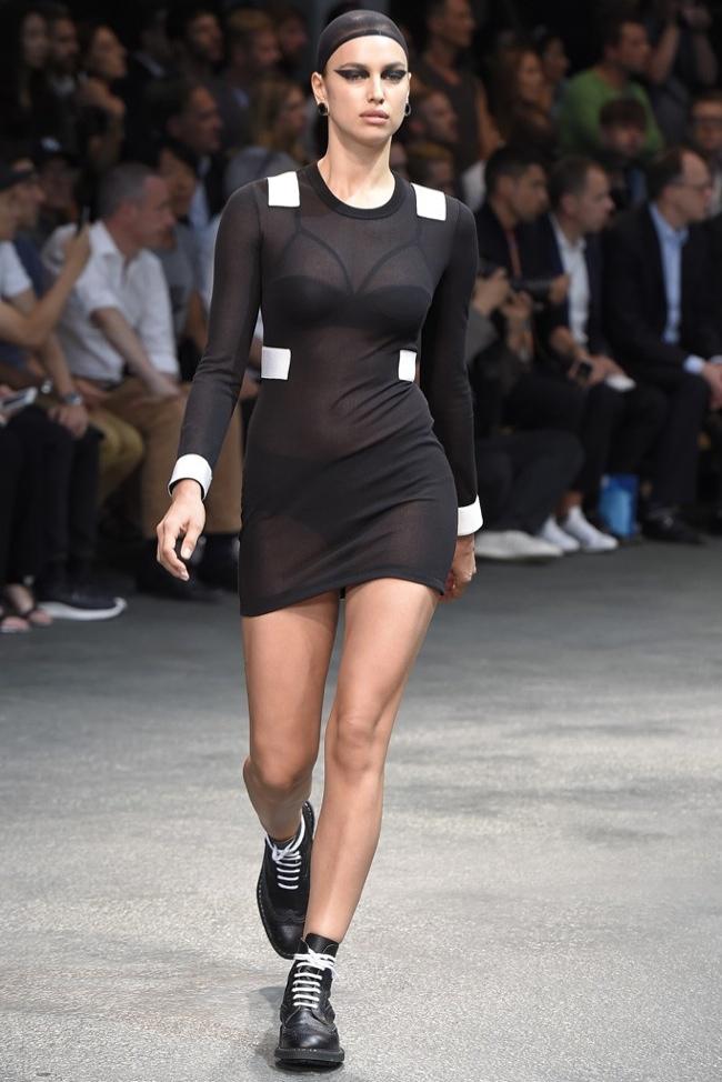 givenchy female models men3 Irina Shayk, Candice Swanepoel, Adriana Lima Walk Givenchy Menswear Show