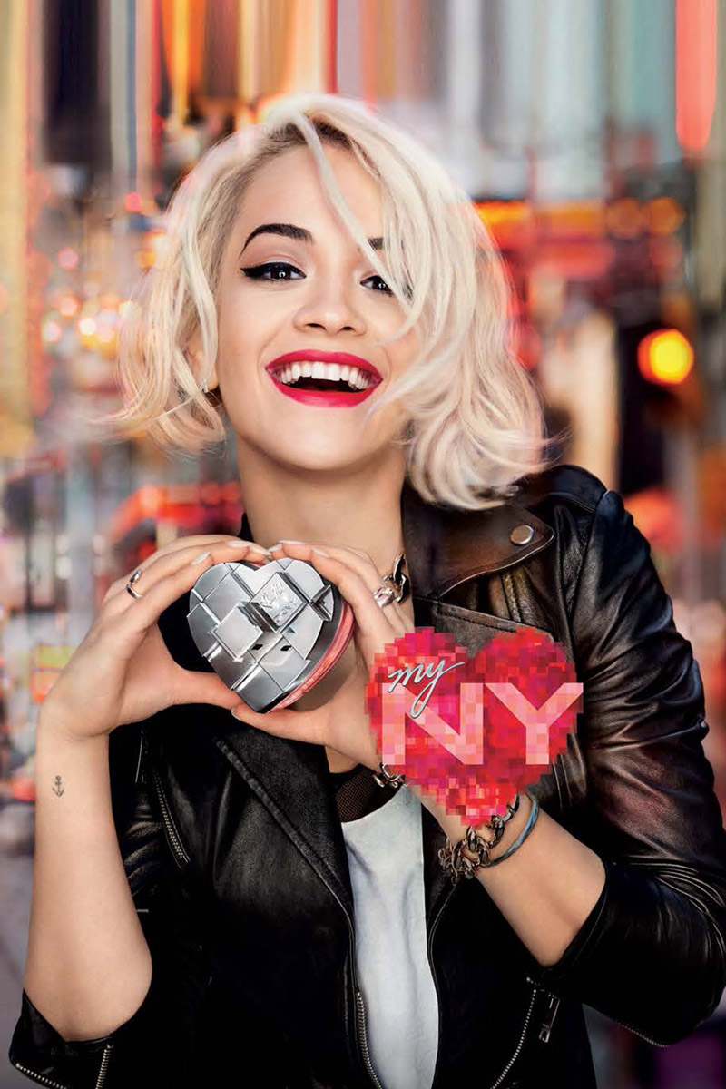 Rita Ora for DKNY My NY Fragrance Campaign