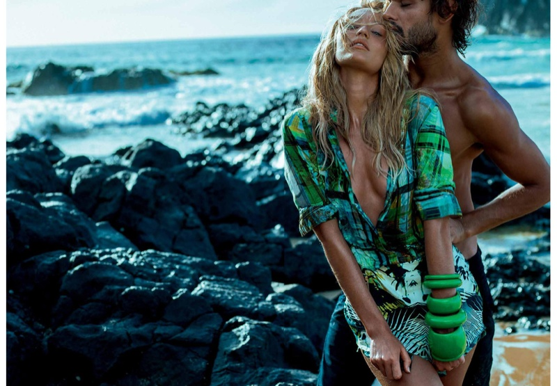Candice Swanepoel For Osmoze Jeans 2015 Spring Campaign