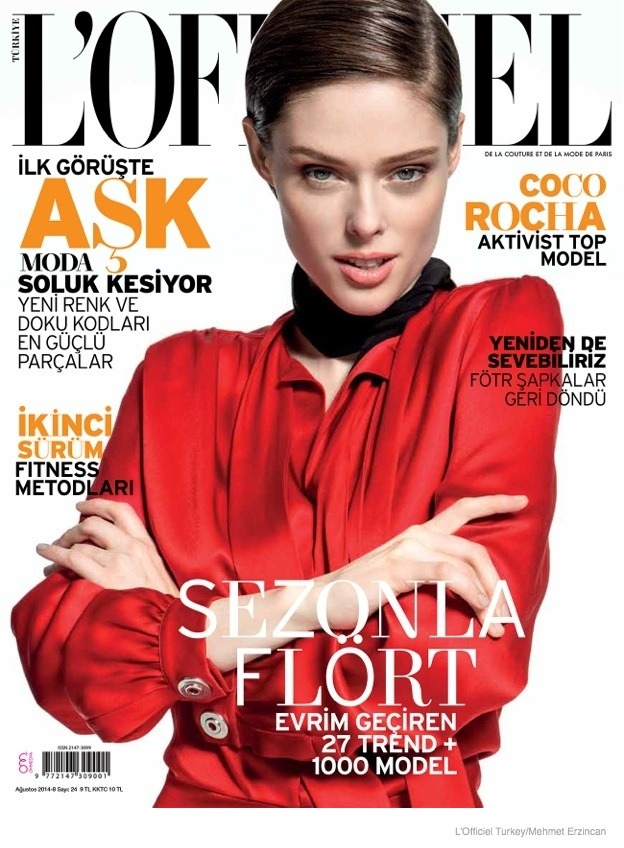 coco rocha street style shoot07 Coco Rocha Wears Street Style for LOfficiel Turkey by Mehmet Erzincan