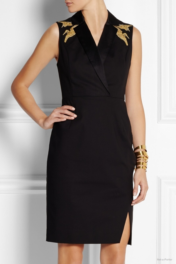 altuzarra target embroidered twill dress It's Here! Altuzarra for Target Collection Available to Buy Now