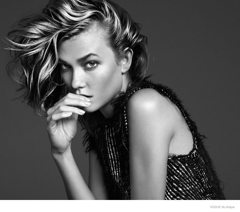 Karlie Kloss Models Messy Hairstyles for Cover Shoot of Vogue Netherlands  Fashion Gone Rogue