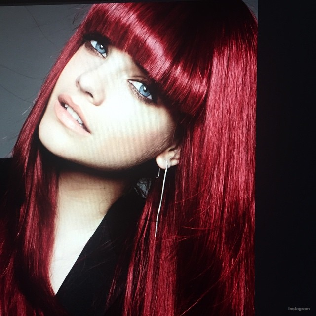 Karlie Kloss, Barbara Palvin with Red Hair for L'Oreal