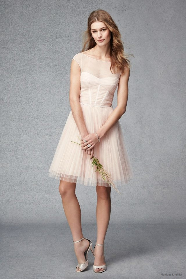 Monique Lhuillier 2015 Fall Bridesmaid Dresses (Photos)