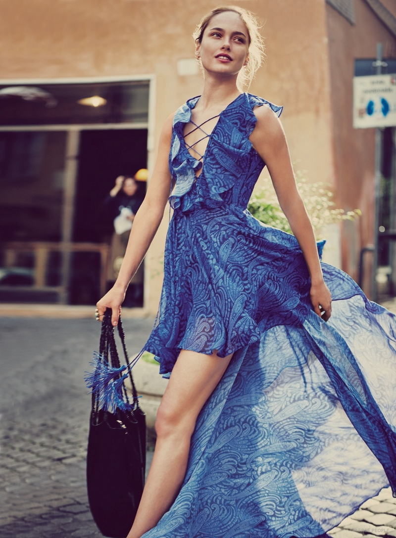 Karmen Pedaru Goes On A Roman Holiday For Free Peoples