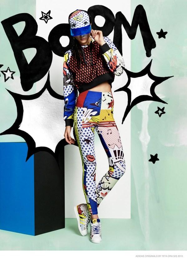 Rita Ora Links With Adidas Originals Pop Art