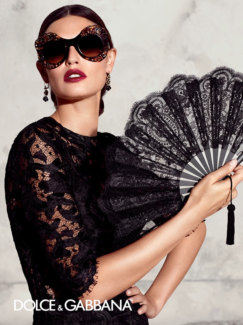 Dolce Amp Gabbana Spring 2015 Eyewear Ads Spotlight
