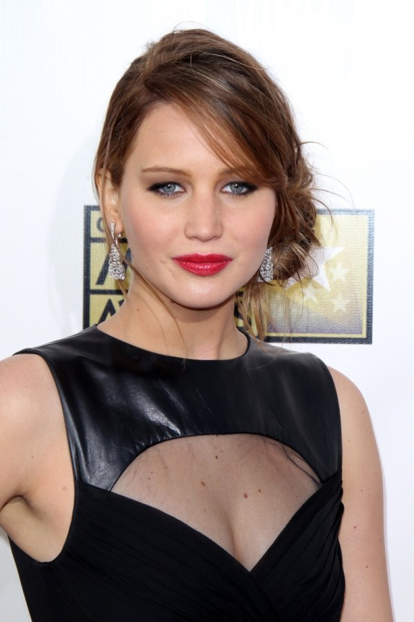 Jennifer Lawrence Short Long Hair