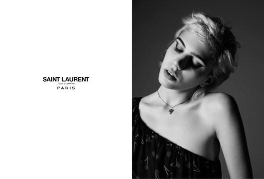 Rocker Julia Cumming Stars in Saint Laurent Spring '15 Ads ...