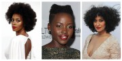 black celebrities with natural