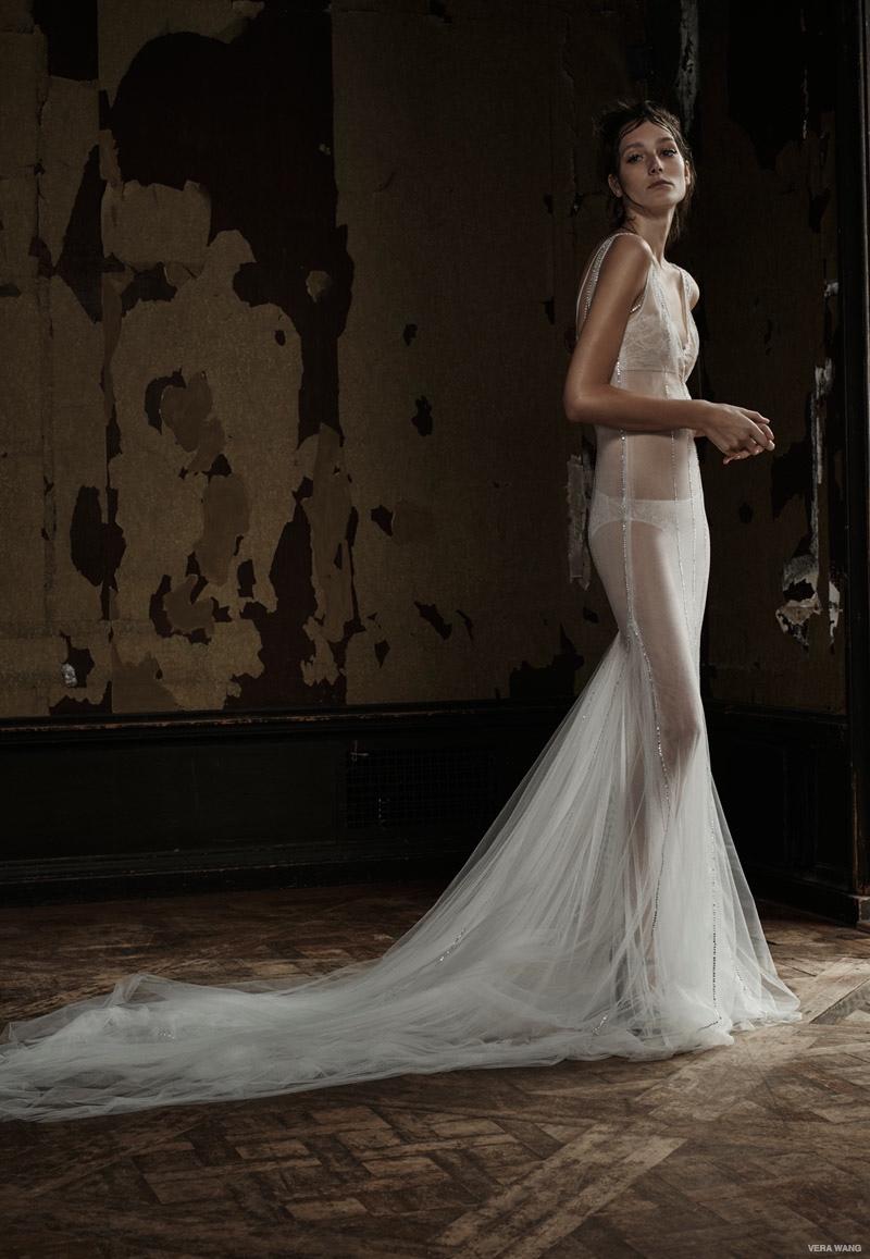 Lingerie Wedding Dress 39 Popular Vera Wang Spring Bridal