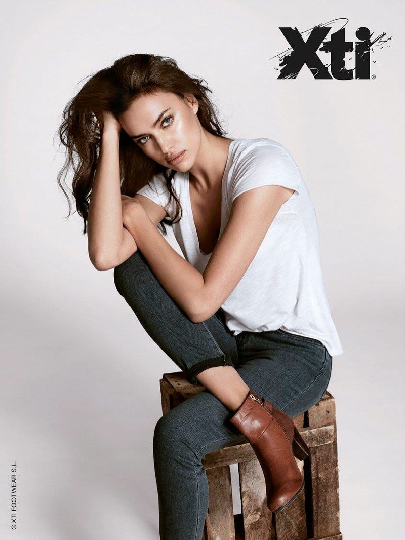 Irina Shayk for Xti Fall Winter
