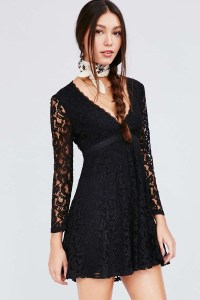 Urban Outfitters Night Out Black Dresses 2015 / 2016 Shop