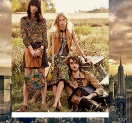 An image from Coach's spring-summer 2016 campaign