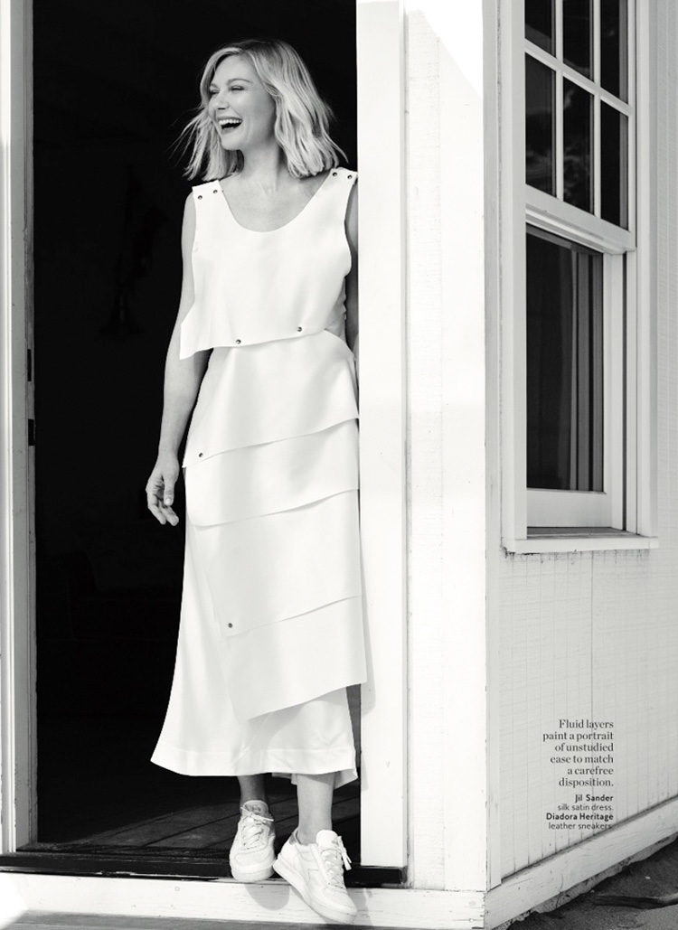Kirsten Dunst stars in InStyle's March issue