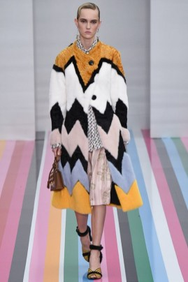 A look from Salvatore Ferragamo's fall-winter 2016 collection