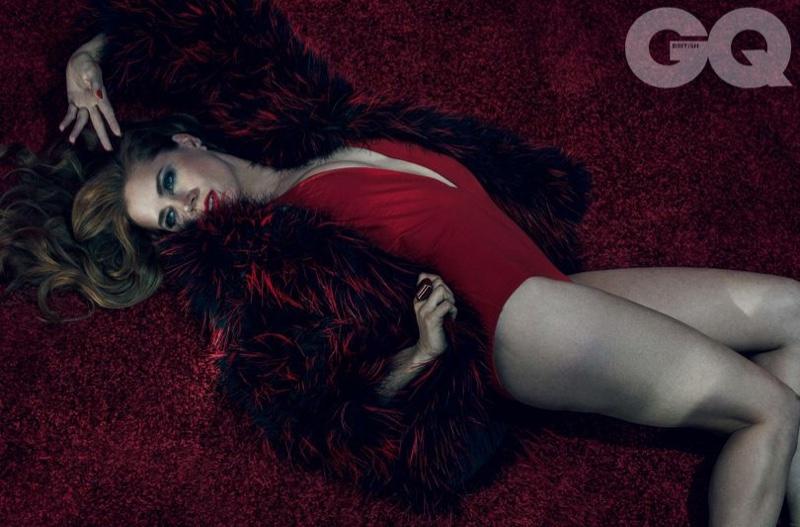 Amy Adams Hot GQ UK April 2016 Photoshoot