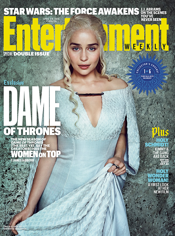 "Image result for ""Game of Thrones"" Women Cover Entertainment Weekly Magazines"