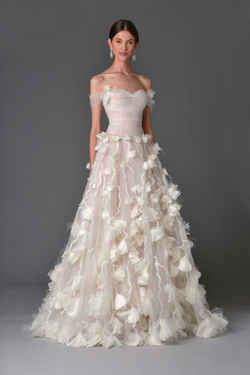 Country Western Wedding Dress 35 Epic Marchesa Bridal Spring Wedding